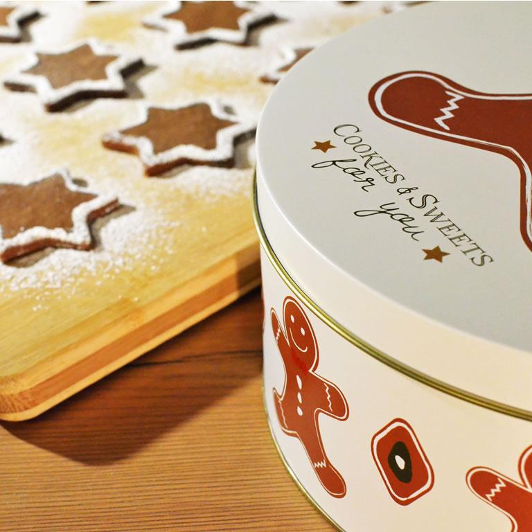 Gingerbread Santa Claus cookies