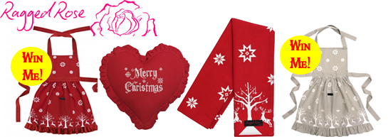 Ragged Rose Christmas collection 2015
