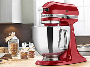 KitchenAid Artisan stand mixer Christmas 2015