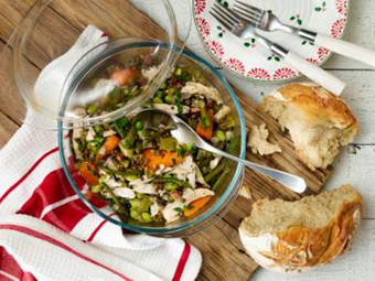 Lentil And Vegetable Casserole