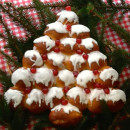 How To Make Sweet and Spicy Christmas Tree Bread