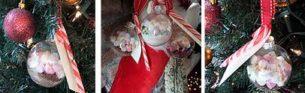 Christmas Hot Chocolate Baubles DIY