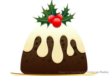 Christmas Pudding Image