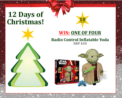 #UTCT12XmasDays WIN one of four Star Wars Radio Control Inflatable Yoda