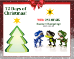 #UTCT12XmasDays WIN one of six zoomer chomplingz toy