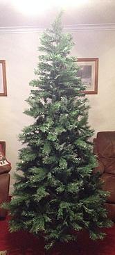 Homebase Christmas tree undecorated