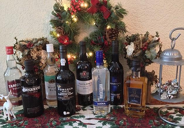 Spirits At Christmas
