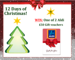 #UTCT12XmasDays Win fifty pounds Aldi vouchers