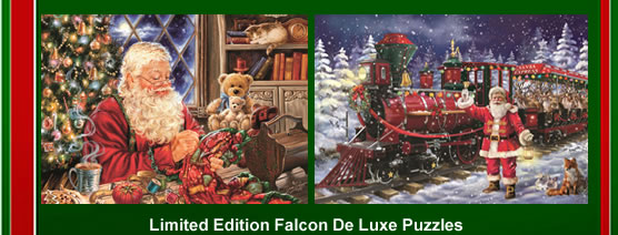 the Falcon de luxe Christmas 2016 puzzles