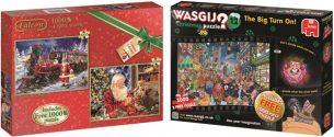 Jumbo Games Christmas Puzzles 2016