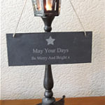 Make Your House Merry & Bright With A Slate Sign