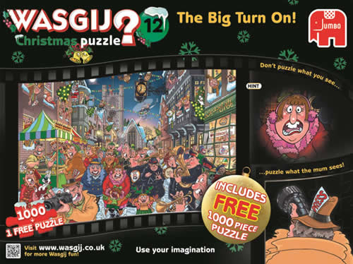 jumbo games wasgij puzzle the big turn on - box