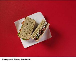 Starbucks Christmas: Turkey & Maple Bacon Sandwich