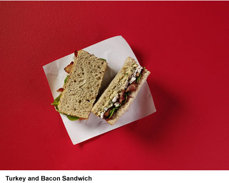 Starbucks Christmas: Turkey & Maple Bacon Sandwich