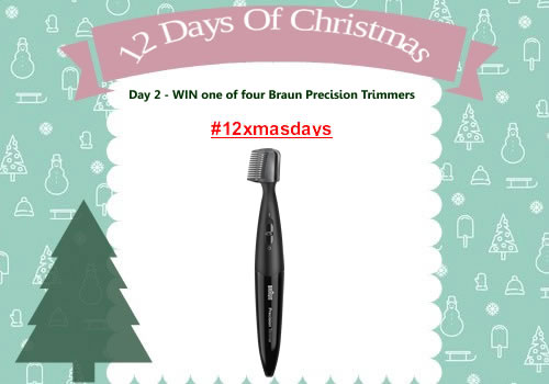 Day 2 #12XmasDays - WIN One of Four Braun Precision Trimmers