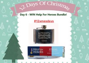 Day 6 #12XmasDays – WIN a Help For Heroes Bundle