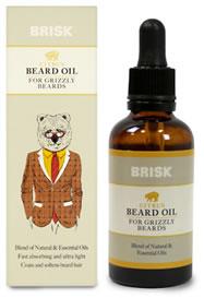 Brisk Citrus Beard Oil 50ml