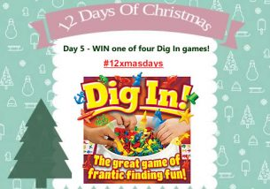 Day 5 #12XmasDays - WIN One of Four Drumond Park Dig in Games