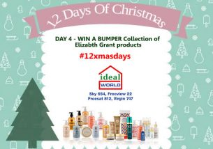 Day 4 #12XmasDays – WIN A BUMPER Collection Of Elizabth Grant Products