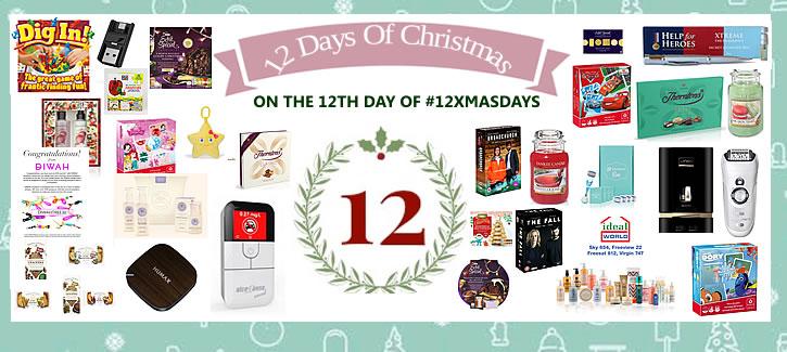12th Day of Christmas - mega prize bundle #12xmasdays
