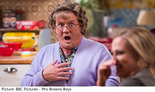 BBC Once - All Round to Mrs Brown's