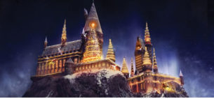 TO THE WIZARDING WORLD OF HARRY POTTER AT UNIVERSAL ORLANDO RESORT!
