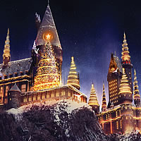 Experience Christmas At The Wizarding World of Harry Potter