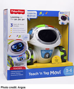 Fisher Price 'Teach n Tag Movi' Top Toy Christmas 2017