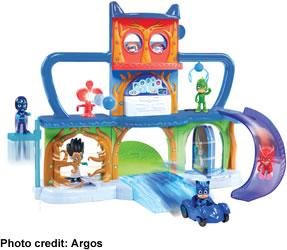 PJ Masks Headquarter Playset - top toy Christmas 2017