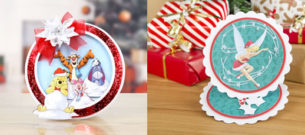Create and Craft Disney Winnie The Pooh and Tinkerbell Christmas collection