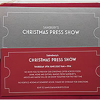 Sainsbury's, Argos and Habitat Christmas Press Show 2017