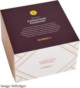 SELFRIDGES EXCLUSIVE Selfridges Selection Artisan Christmas Pudding £24.99