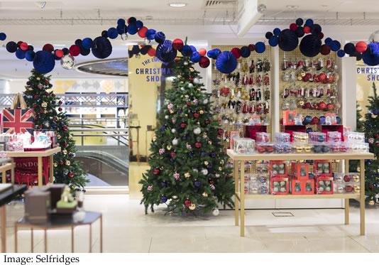 Selfridges Christmas Shop Launch store