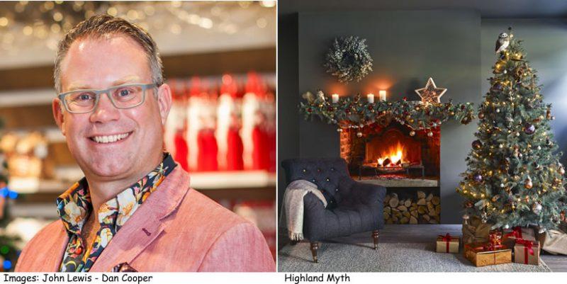 John Lewis's Christmas buyer Dan Cooper and Highland Myths theme