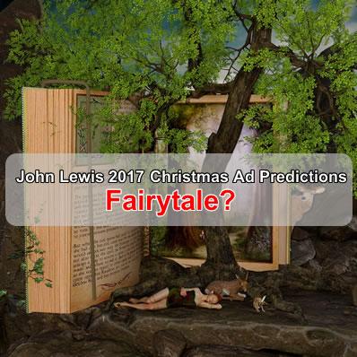 John Lewis 2017 Christmas Advert Recreate Hans Christian Andersens Big Book of Fairytales?