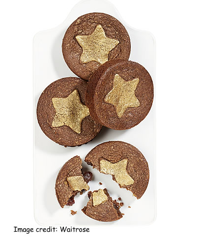 Waitrose Ginger Spiced Mince Pies with All Butter Chocolate Pastry