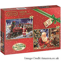 Twitter Only Competition: Win Falcon De Luxe 1000 Piece Christmas Jigsaw