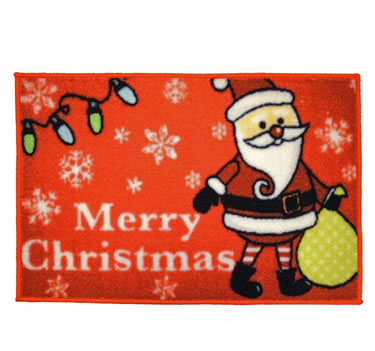 Non Slip Novelty Festive Christmas Door Mat, Currently priced at £6.99