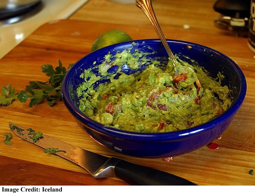 Christmas Dip Recipe: Quick & Easy Freakin Easy Guac (Guacamole)