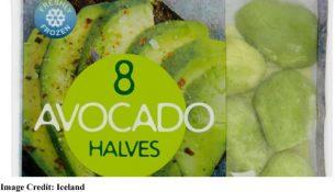 Iceland's frozen Avocado