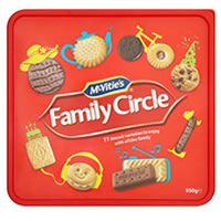 Iceland Has McVities Family Circle 950g Christmas Box For £2.50