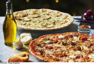 Pizza Express maple-glazed gammon romana