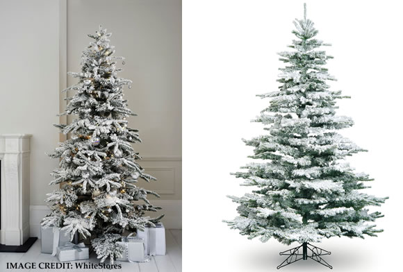 white stores im dreamining of a white christmas trend 2017 - 2017 Christmas Decor Trends