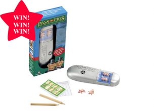 WIN: One of Five Pass the Pig games