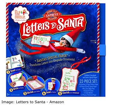 Amazon Top ten toys Christmas: Letters to Santa