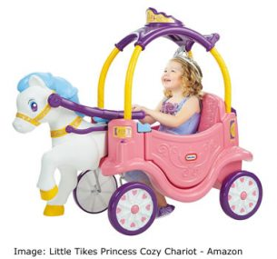 Amazon Top ten toys Christmas: Little Tikes Princess Cozy Chariot