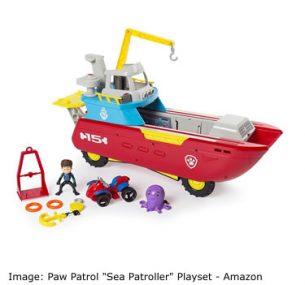 "Amazon Top ten toys Christmas: Paw Patrol ""Sea Patroller"" Playset"