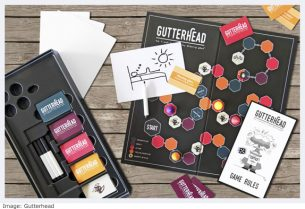 Gutterhead Christmas Board Game for Adults