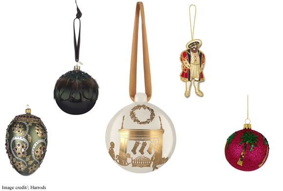 Harrods Christmas Baubles