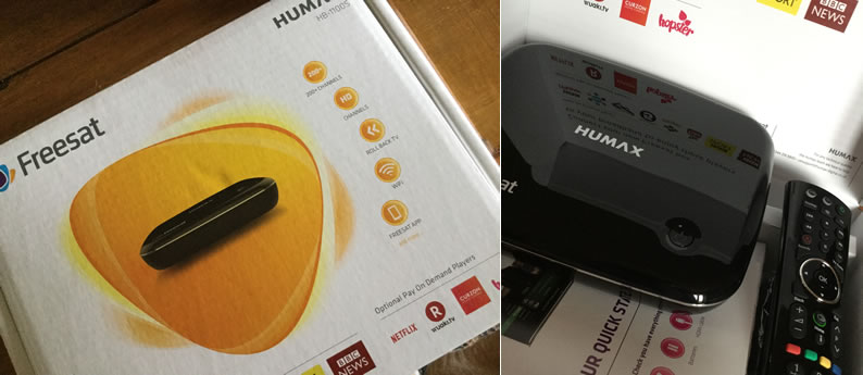 Humax Open Box